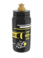 Elite Fly Tour de France bidon 550 ml, czarny