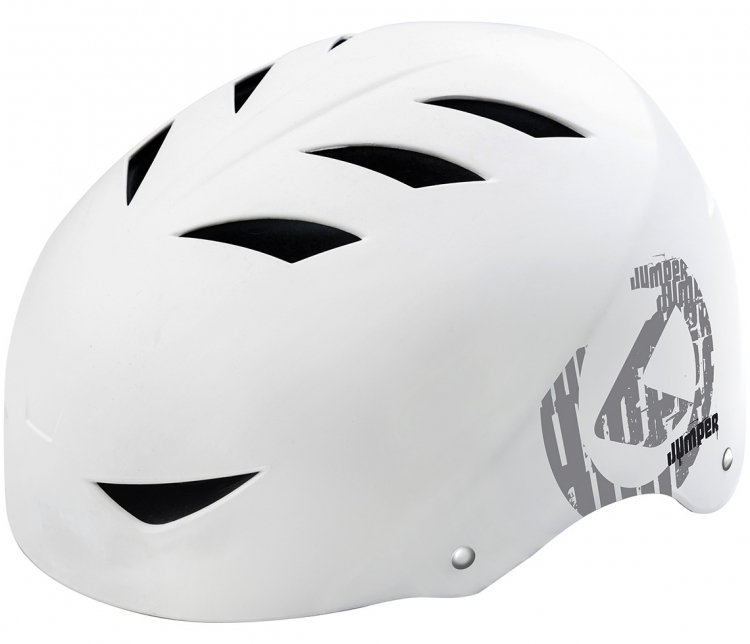 Kask jumper 2018 white-grey s/m